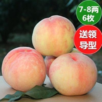 仅需208元 享原价238元的无锡阳山水蜜桃(单只7-8两、6只装)...